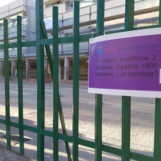 Una semana sin conserje en el Rosalía de Castro