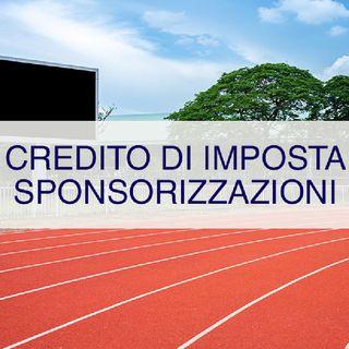 Episodio 24 - Credito Imposta Sponsorizzazioni