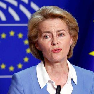"""Ue, Ursula von der Leyen: """"vertice mondiale sulla sanità, in Italia, nel 2021"""""""