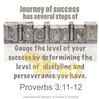 God discipline us because He who created us delight in us.