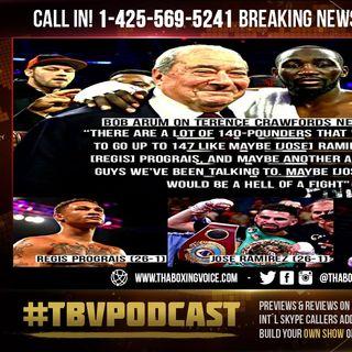 ☎️ Terence Crawford Could FIGHT Prograis🔥Ramirez😂or Zepeda🤣NEXT - Says Bob Arum