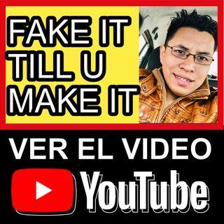 #FakeItTillYouMakeIt || 20/365