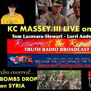 KC MASSEY III - UnConstitutional Federal Jurisdiction & MILITARY BASE BOMBED in SYRIA