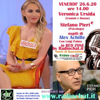 "Veronica Ursida e Stefano Pieri ospiti di Alex Achille in ""RED ZONE"" by Radiochat.it"