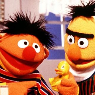 Bert, Ernie and Sexual Denial