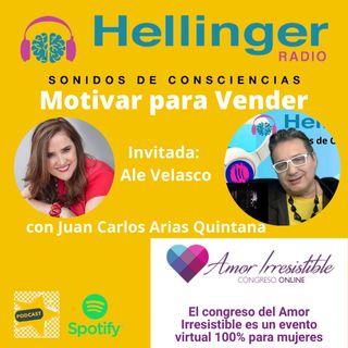 Motivar para Vender con Ale Velasco en la Hellinger Radio