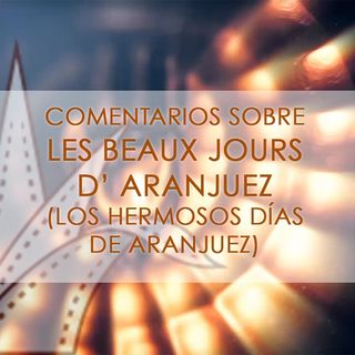 FICG 32.04 - La Hermosos Días De Aranjuez