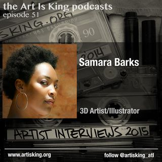 Art Is King podcast 051 - Samara Barks
