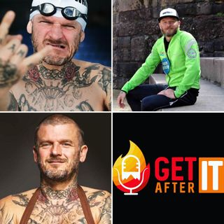 Episode 114 - with Matthew Pritchard formerly of Dirty Sanchez and now endurance athlete and host of Dirty Vegan cooking on BBC.
