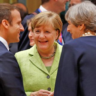 May, Macron and Merkel: in the Bleak Midwinter