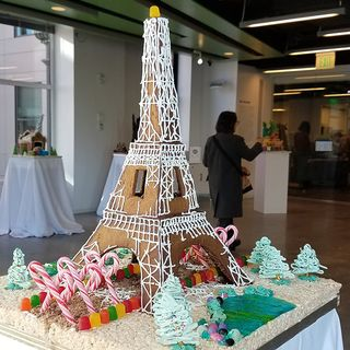 Boston Architects Design Gingerbread Houses