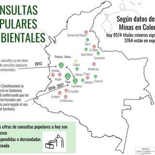 Consultas populares en temas ambientales