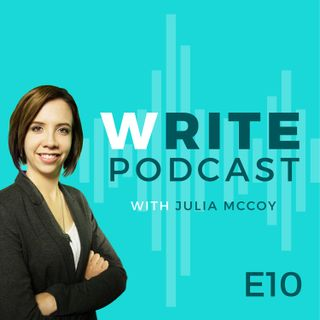 E10 Chapter Read of So You Think You Can Write? The Definitive Guide to Successful Online Writing by Julia McCoy