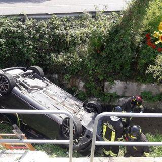 Auto si ribalta nel canale di scolo a Onè di Fonte: morto un anziano di Romano d'Ezzelino