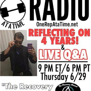 episode 11 - Reflecting on 4 years sobriety PLUS Q&A