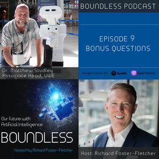 Dr. Matt Studley: BONUS QUESTIONS
