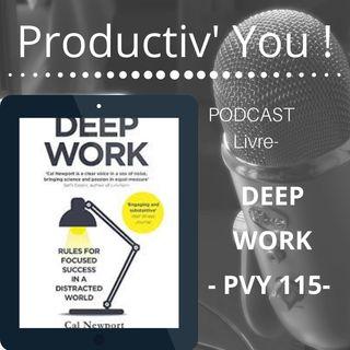 Deep Work - Cal Newport -  Pilier d'une Vie pleine de Sens