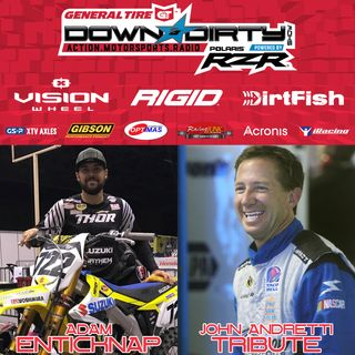 #415 - Supercross's Adam Enticknap & a John Andretti Tribute
