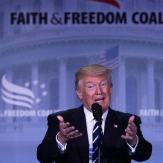 President Donald Trump Speaks at The Road to Majority 2017 (Part 2)