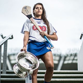 Niamh Rockett, Waterford Camogie Captain 2020, Lar Na Pairce - Friday Oct. 16th