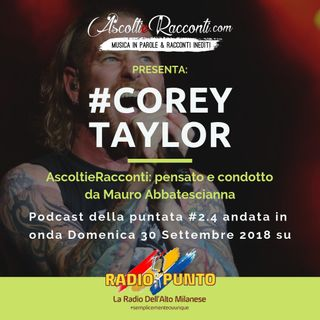 Radio Punto | #2.4 Corey Taylor 30-09-2018