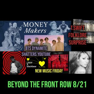 016: BTS Break YouTube, Taylor's NEW Folklore Surprise + Mariah Carey, Bazzi, Blackbear NMF