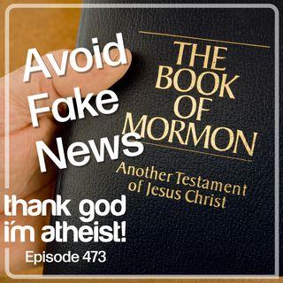 Mormons Seek Reliable Sources #473