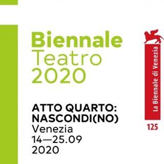 Speciale Biennale di Venezia teatro #3 - Questa sera si recita a soggetto