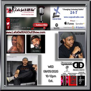 08-05-2020 Our Special Guest Today Is Fashion Designer Adaj Perry!