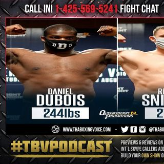 ☎️Daniel Dubois vs. Ricardo Snijders🔥Live Fight Chat🥊Heavyweight Action❗️