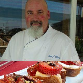 Spiced Strawberry Bruschetta - Chef Ivan Flowers on Big Blend Radio