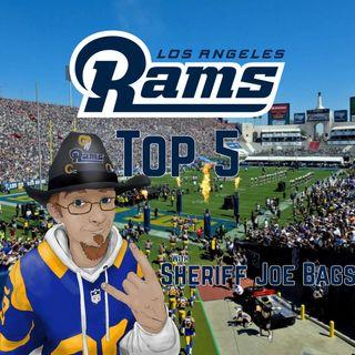 Los Angeles Rams Top 5 - Running Backs