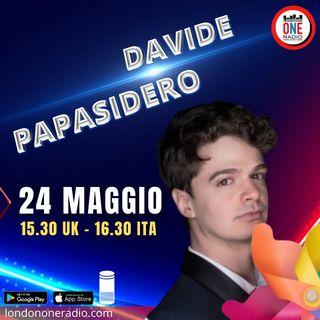"Davide Papasidero presenta ""Avrei potuto essere sexy"""