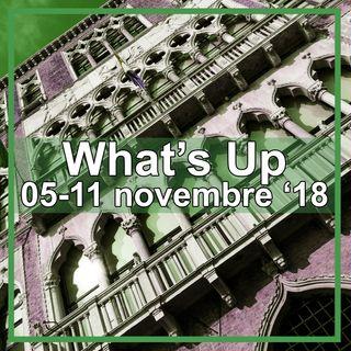What's Up: 05-11 novembre 2018