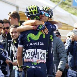 Valverde, a 24 horas del podio final del Giro