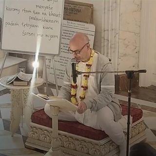 S.B. Canto 8 Cap. 22 verso 2 ~ Ramacandra Das (17 luglio 2019)