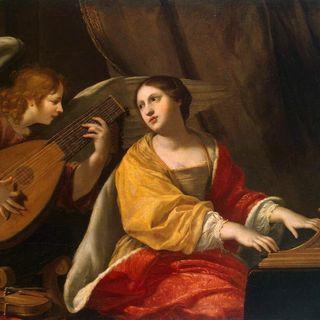 Santa Cecilia y la música