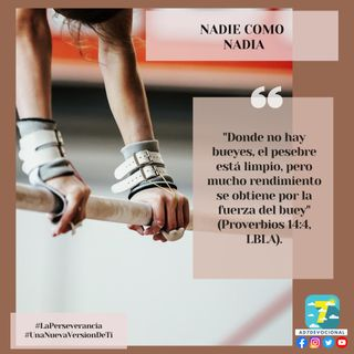 29 de agosto - Nadie como Nadia - Una Nueva Versión de Ti 2.0 - Devocional de Jóvenes