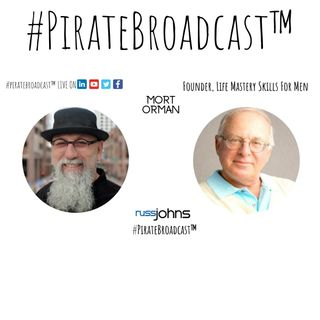 Catch Mort Orman on the #PirateBroadcast™