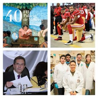 Secretario de Educación Pública, Científicos del IPN contra el VPH, 40 FIL Minería, Colin Kaepernick vs NFL