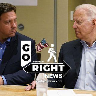 Desantis Fights Back Against Biden