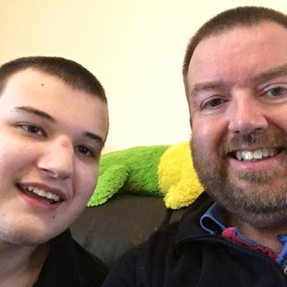 Dad to Dad 120 - Mark Arnold of Bournemouth, England, Advocates For Fathers Raising Children Like His Son, Who Has Autism & Epilepsy
