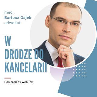Rozmowa z adwokatem Bartoszem Gajkiem o książkach, które rozwijają kancelarię prawną