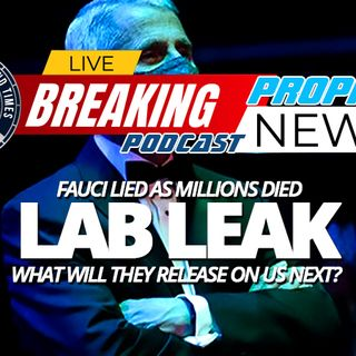 NTEB PROPHECY NEWS PODCAST: First They Got Rid Of Bill Gates, Now It's Anthony Fauci, What Is The New World Order Planning To Do Next?