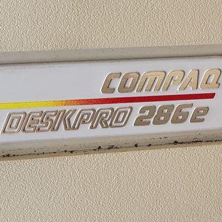 My Compaq Deskpro 286e WAS running great...