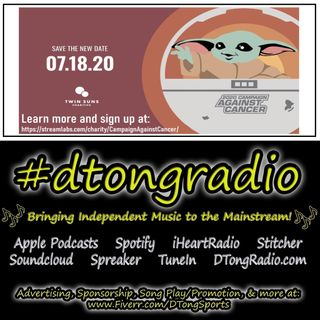 #NewMusicFriday on #dtongradio - Powered by TwinSunsCharities.org