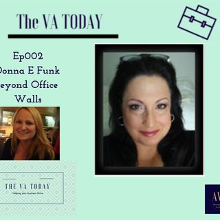 Ep002 The VA Today Podcast Donna Funk