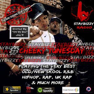 "StayBizzyRadio: Ep.44 #CheekyTunezday Hosted By ""Itz Ya Boi"" Jay R"