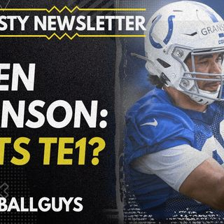 Is Kylen Granson the TE to roster in IND!? - Dynasty Fantasy Football 2021