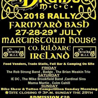 The Madarse Biker Rock Show Live at The Druids Mcc Farmyard Bash 2018